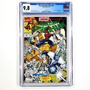Amazing Spider-Man #360 CGC 9.8 NM/M Front