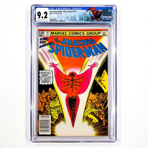 Amazing Spider-Man Annual #16 CGC 9.2 NM- Newsstand Edition Front
