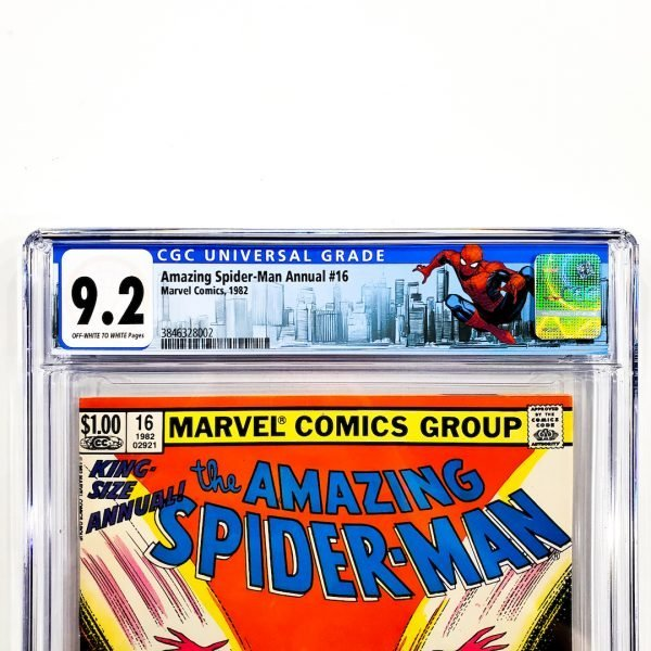 Amazing Spider-Man Annual #16 CGC 9.2 NM- Newsstand Edition Front Label