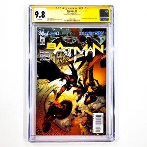 Batman (2011) #2 CGC SS 9.8 NM/M Front