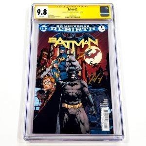 Batman (2016) #1 CGC SS 9.8 NM/M Front