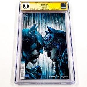 Batman (2016) #50 CGC SS 9.8 NM/M Lee Variant Front
