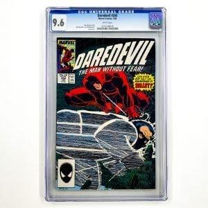 Daredevil #250 CGC 9.6 NM+ Front