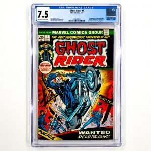 Ghost Rider #1 CGC 7.5 VF- Front