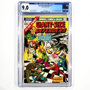 Giant-Size Defenders #3 CGC 9.0 VF/NM Front