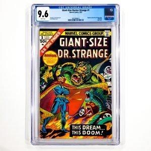Giant-Size Doctor Strange #1 CGC 9.6 NM+ Front
