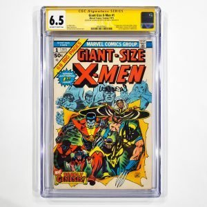 Giant-Size X-Men #1 CGC SS 6.5 FN+ Front