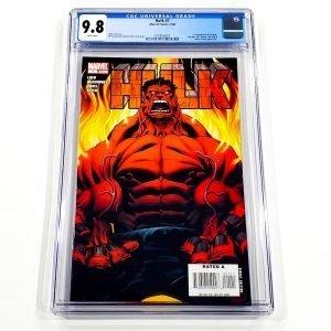 Hulk (2008) #1 CGC 9.8 NM/M Front