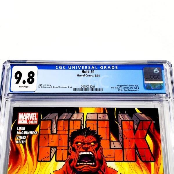 Hulk (2008) #1 CGC 9.8 NM/M Front Label