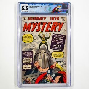 Journey Into Mystery #85 CGC 5.5 FN- Front