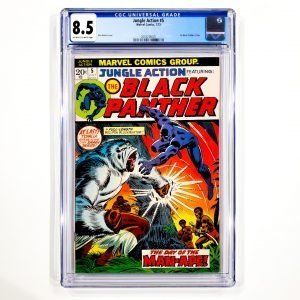 Jungle Action #5 CGC 8.5 VF+ Front