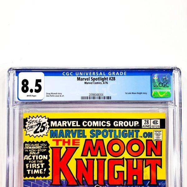 Marvel Spotlight #28 CGC 8.5 VF+ Front Label