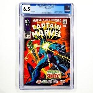 Marvel Super-Heroes #13 CGC 6.5 FN+ Front