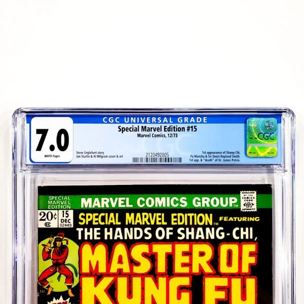 Special Marvel Edition #15 CGC 7.0 FN/VF Front Label