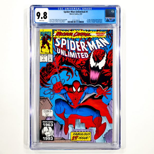 Spider-Man Unlimited #1 CGC 9.8 NM/M Front