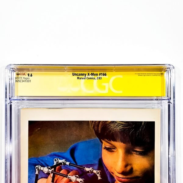 Uncanny X-Men #166 CGC SS 9.6 NM+ Newsstand Edition Back Label