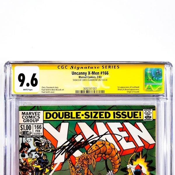 Uncanny X-Men #166 CGC SS 9.6 NM+ Newsstand Edition Front Label