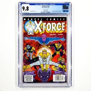 X-Force #116 CGC 9.8 NM/M Newsstand Edition Front