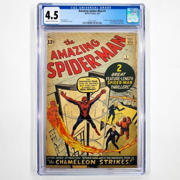 Amazing Spider-Man #1 CGC 4.5 VG+ Front