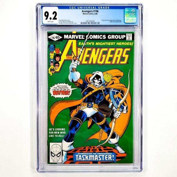 Avengers #196 CGC 9.2 NM- Front