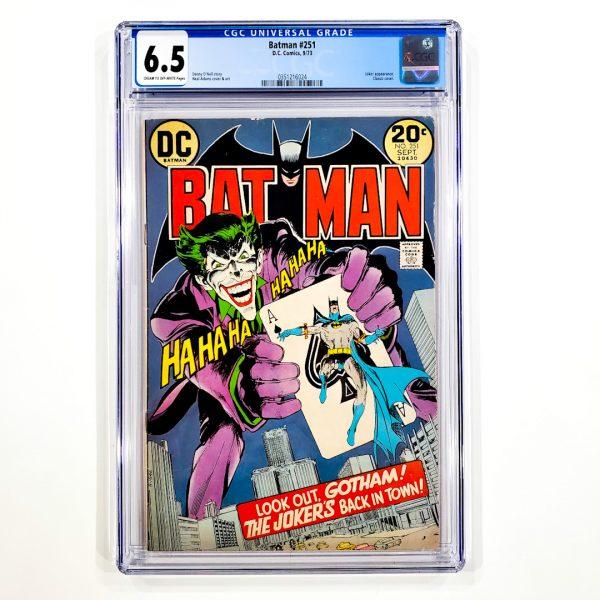 Batman #251 CGC 6.5 FN+ Front