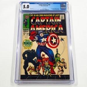 Captain America #100 CGC 5.0 VG/FN Front