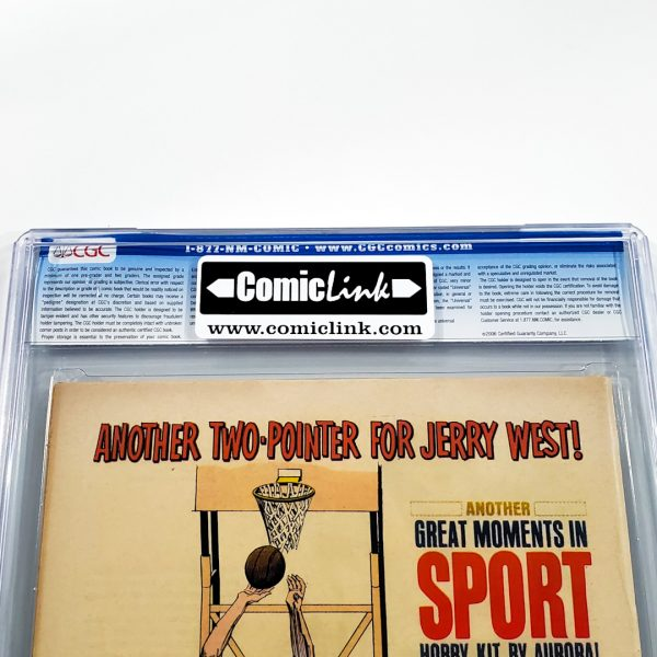 Daredevil #15 CGC 9.0 VF/NM Back Label