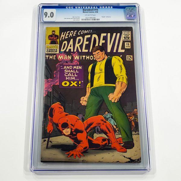 Daredevil #15 CGC 9.0 VF/NM Front