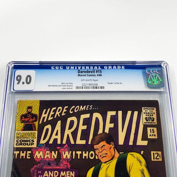 Daredevil #15 CGC 9.0 VF/NM Front Label
