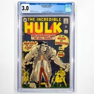 Incredible Hulk #1 CGC 3.0 GD/VF Front