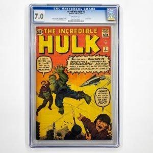 Incredible Hulk #3 CGC 7.0 FN/VF Front