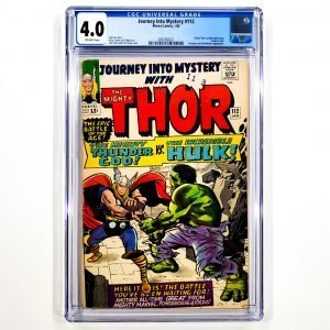 Journey Into Mystery #112 CGC 4.0 VG Front