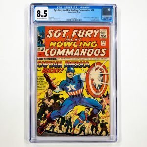Sgt. Fury and His Howling Commandos #13 CGC 8.5 VF+ Front