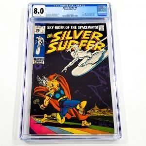 Silver Surfer #4 CGC 8.0 VF Front