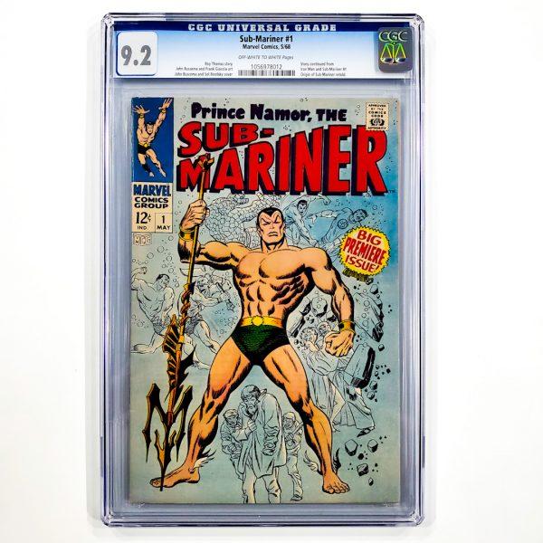 Sub-Mariner #1 CGC 9.2 NM- Front