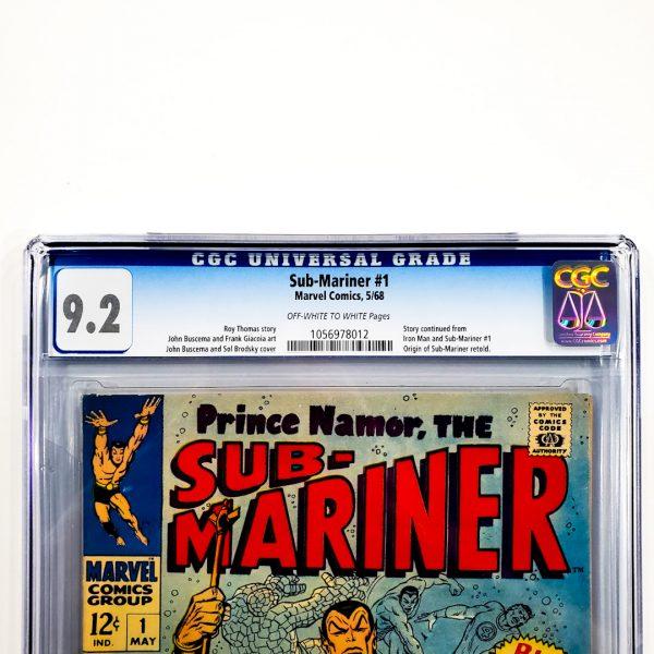 Sub-Mariner #1 CGC 9.2 NM- Front Label