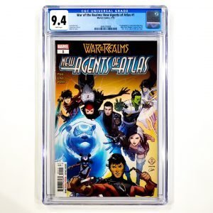 War of the Realms: New Agents of Atlas #1 CGC 9.4 NM Front