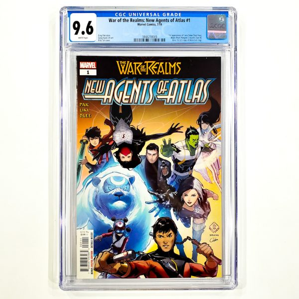 War of the Realms: New Agents of Atlas #1 CGC 9.6 NM+ Front