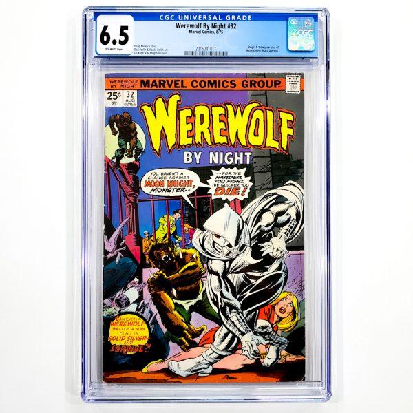 Werewolf By Night #32 CGC 6.5 FN+ Front