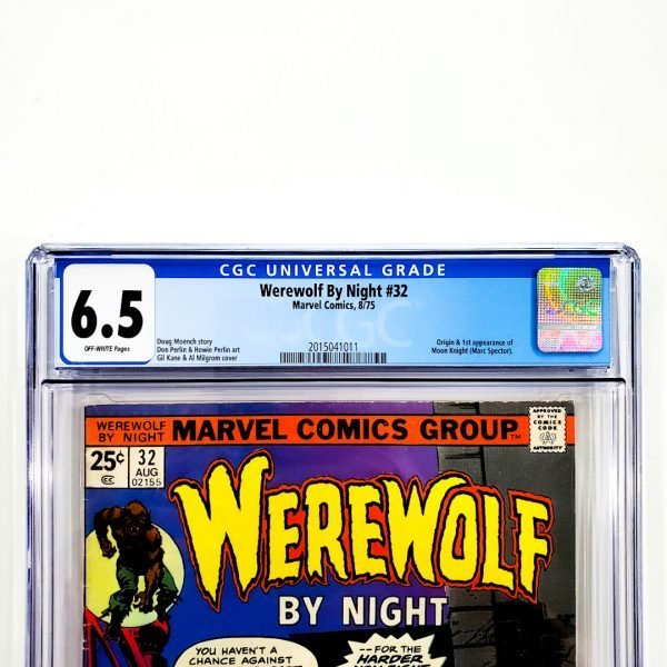 Werewolf By Night #32 CGC 6.5 FN+ Front Label