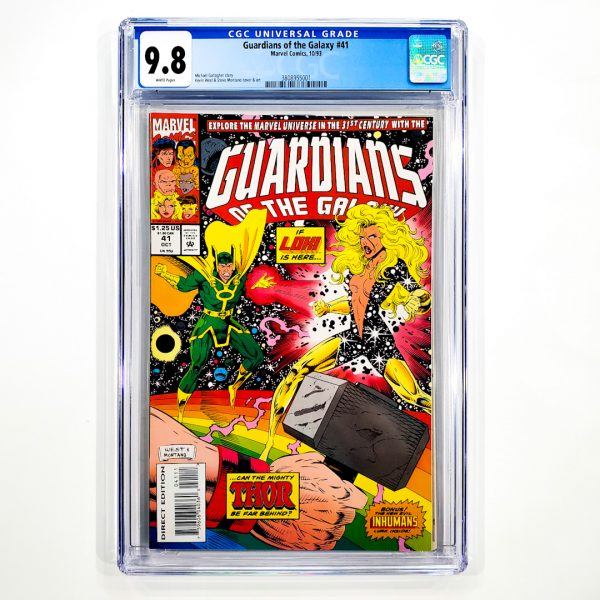 Guardians of the Galaxy (1990) #41 CGC 9.8 NM/M Front