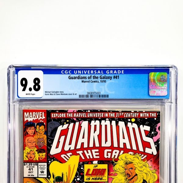 Guardians of the Galaxy (1990) #41 CGC 9.8 NM/M Front Label