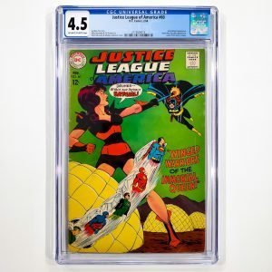 Justice League of America #60 CGC 4.5 VG+ Front