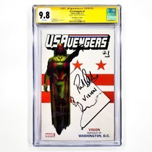 U.S. Avengers #1 CGC SS 9.8 NM/M Washington D.C. Variant Front