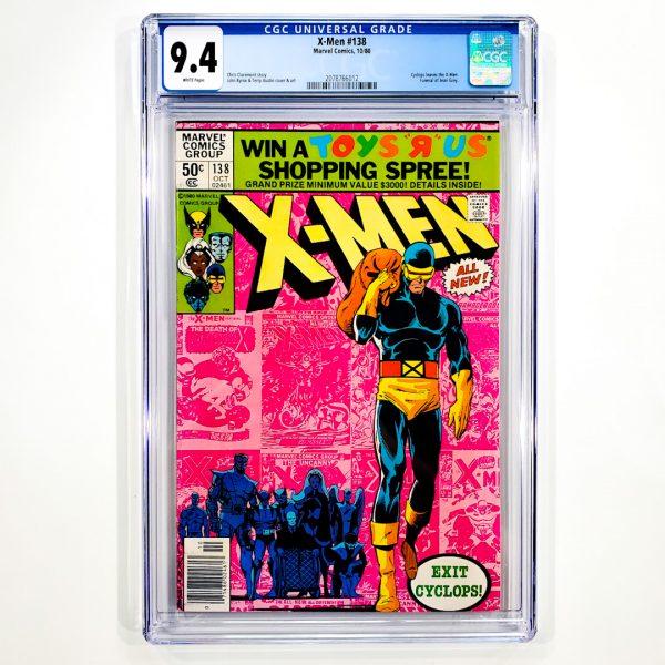 X-Men #138 CGC 9.4 NM Newsstand Edition Front